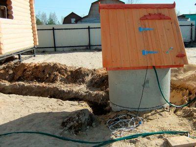 Водоснабжение частного дома из колодца